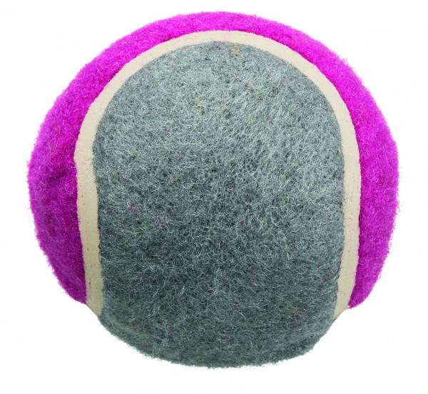 Tennisbälle blau/pink, 6 cm