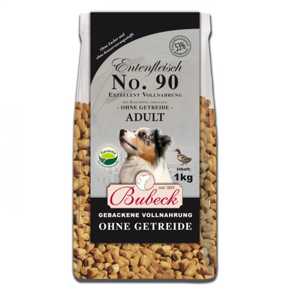 Trockenfutter No. 90 Entenfleisch getreidefrei 1 kg