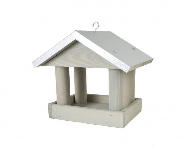 Vogelhaus Futterhaus Futterstelle, Kiefernholz zum Aufhängen