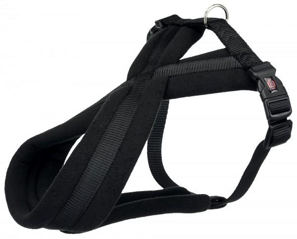 Premium Touren Geschirr M 45-70cm/25mm schwarz