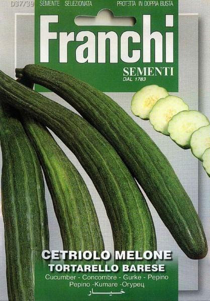 Franchi Samen Cetriolino Melone Tortarello Barese Gurke