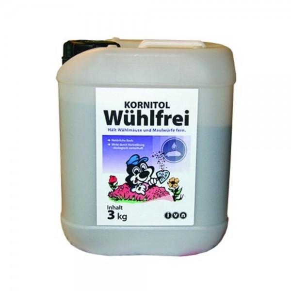 Kornitol Wühlfrei gegen Wühlmäuse und Maulwürfe 3kg