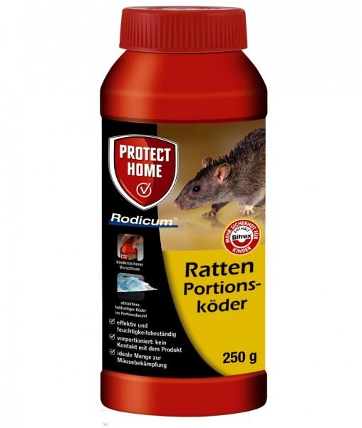 Rodicum Ratten 250g Portionsköder Rattenköder Rattengift