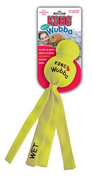 Kong Wet Wubba gelb 32 cm