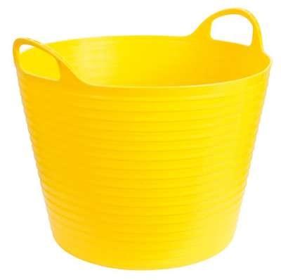 FlexBag 28L Gelb Garten- und Aufbewahrungskorb Trog