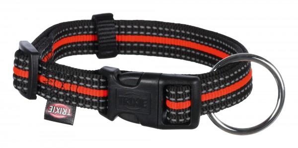 Fusion Halsband L–XL 40–65 cm 25 mm schwarzorange