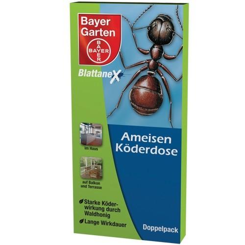 Bayer Garten Ameisenköderdose Ameisenmittel (Inhalt 2 Ameisenköderdosen)