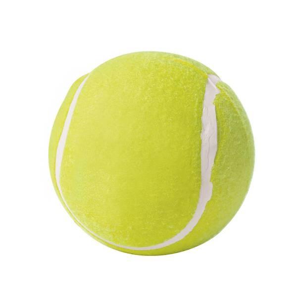 Tennisball gelb, 6 cm