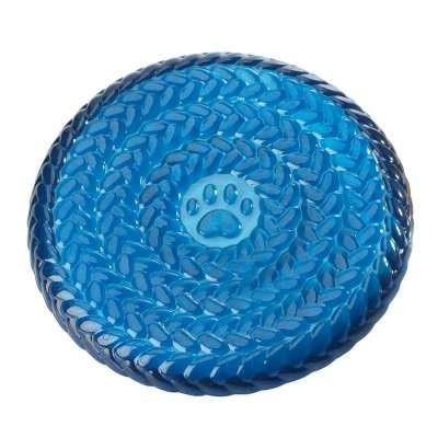 Gummi-Frisbee blau, 23 cm