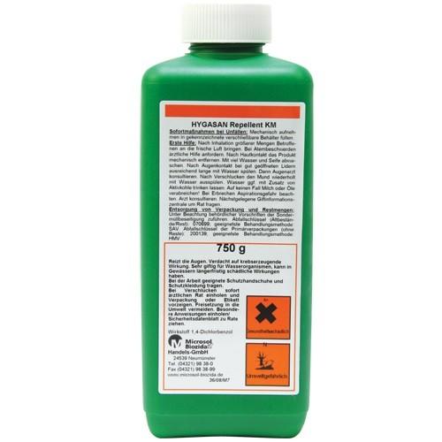 HYGASAN®-Repellent KM (750g) gegen Kaninchen, Hunde, Katzen und Marder