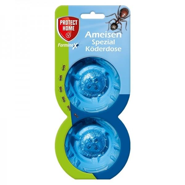 Protect Home Ameisen Spezial Köderdose (Inhalt 2 Stück) Ameisenmittel Ameisenköder