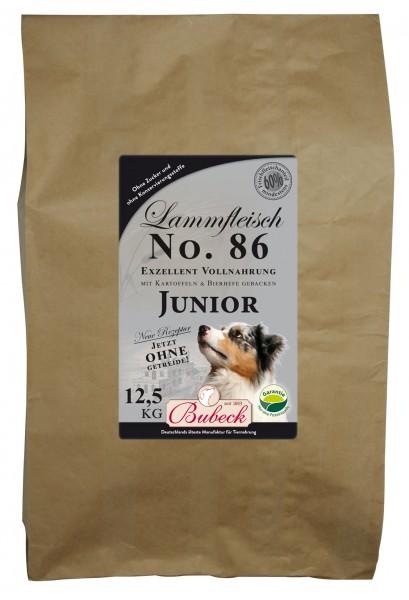 Trockenfutter No. 86 Lammfleisch junior getreidefrei 12,5 kg