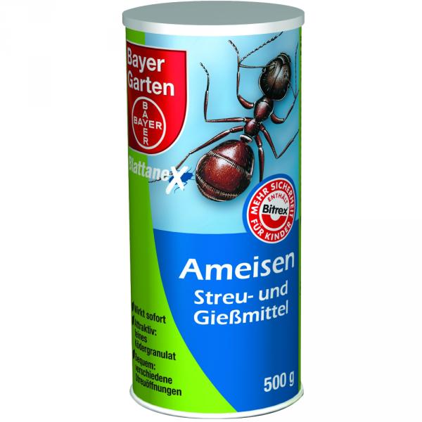 Bayer Ameisenstreu und Giessmittel 500g Ameisenmittel