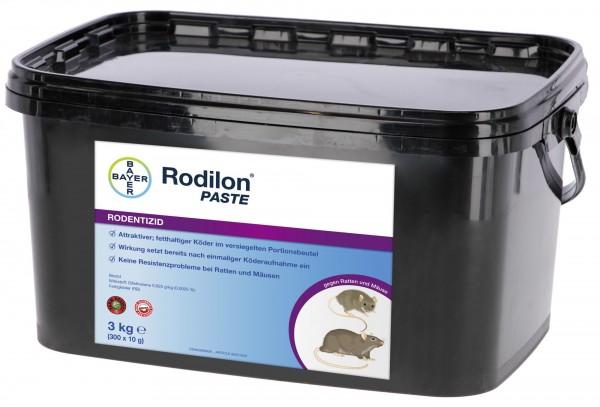Bayer Rodilon Paste 3 kg Pastenköder Rattengift Rattenköder Mäuseköder