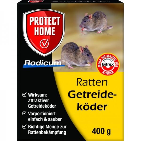 Rodicum Ratten Getreideköder 400 g Rattenköder Rattengift Mäuseköder Mäusegift Getreideköder