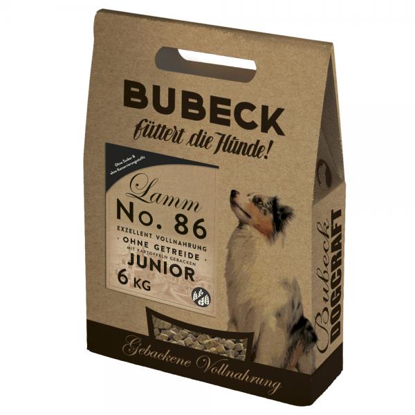 Trockenfutter No. 86 Lammfleisch junior getreidefrei 6 kg