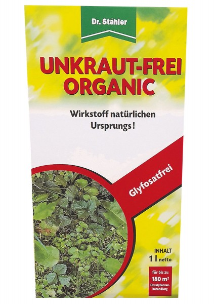 Dr. Stähler Unkraut-Frei Organic 1l Unkrautvernichter