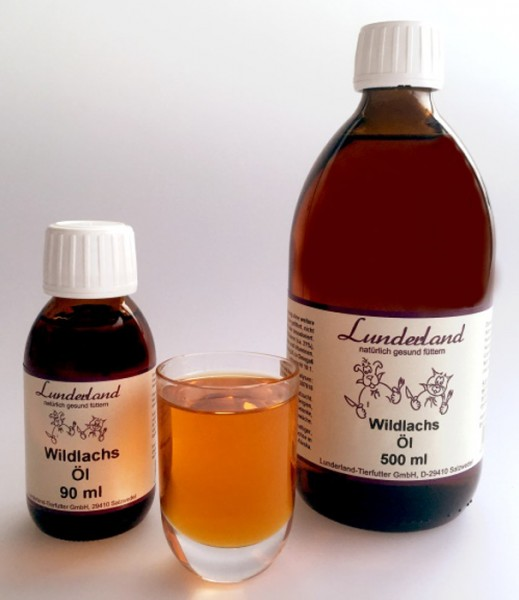 Lunderland Wildlachsöl 500ml