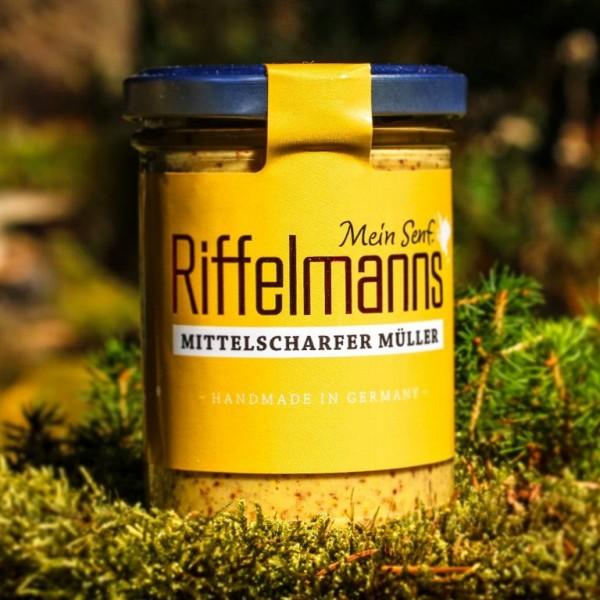 Mittelschafer Müller Riffelmanns Manufaktursenf