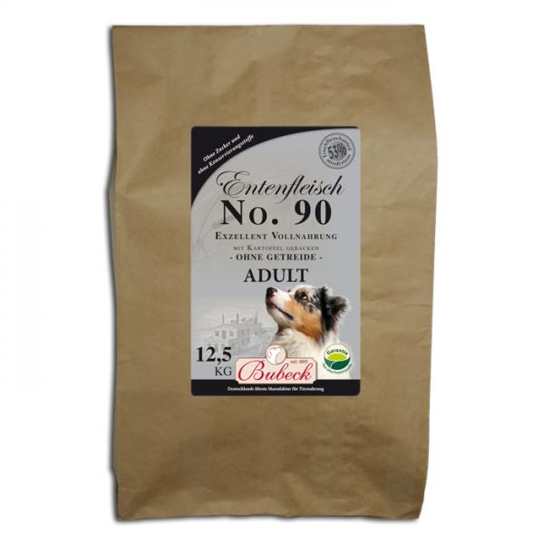 Trockenfutter No. 90 Entenfleisch getreidefrei 12,5 kg