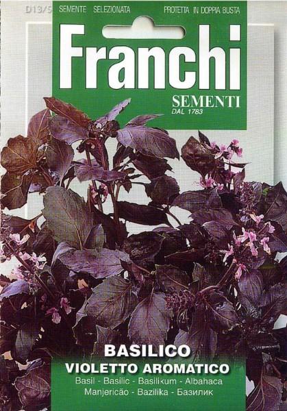 Franchi Samen Basilico Violetto Aromatico