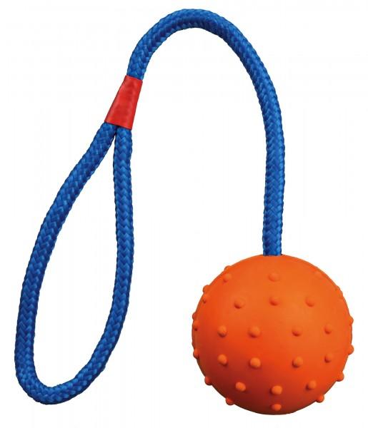 Naturgummiball am Seil, 6 cm/ 30 cm