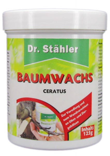 Dr. Stähler Ceratus Baumwachs 125g