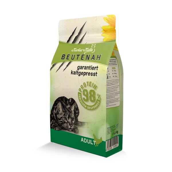 Beutenah Katzenfutter kaltgepresst 1,2 kg