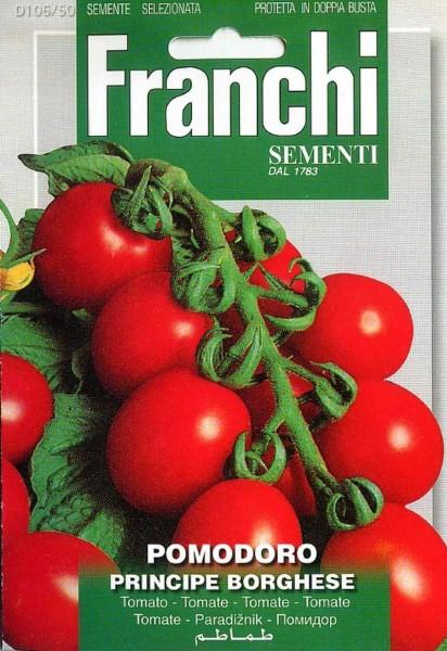 Franchi Samen Pomodoro Principe Borghese Tomate