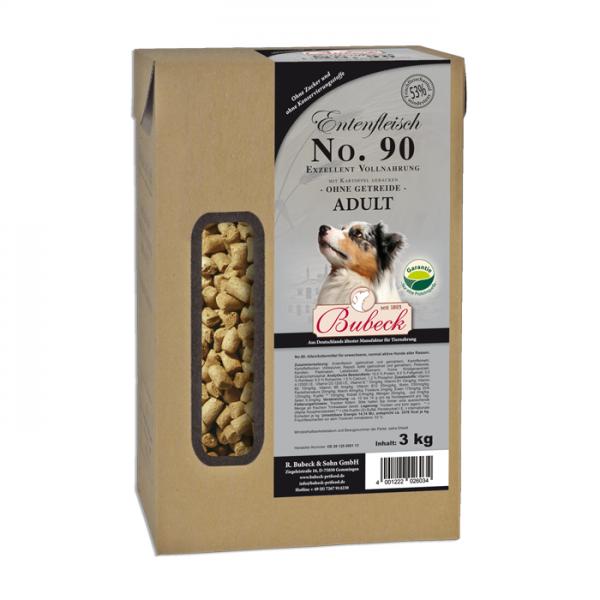 Trockenfutter No. 90 Entenfleisch getreidefrei 3 kg