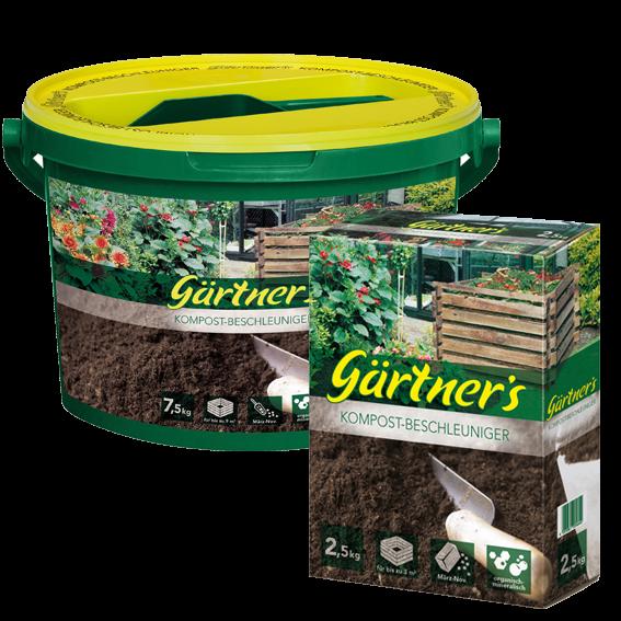 Gärtner's Kompost-Beschleuniger 2,5kg