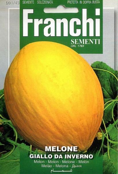 Franchi Samen Melone Giallo Da Inverno Honigmelone