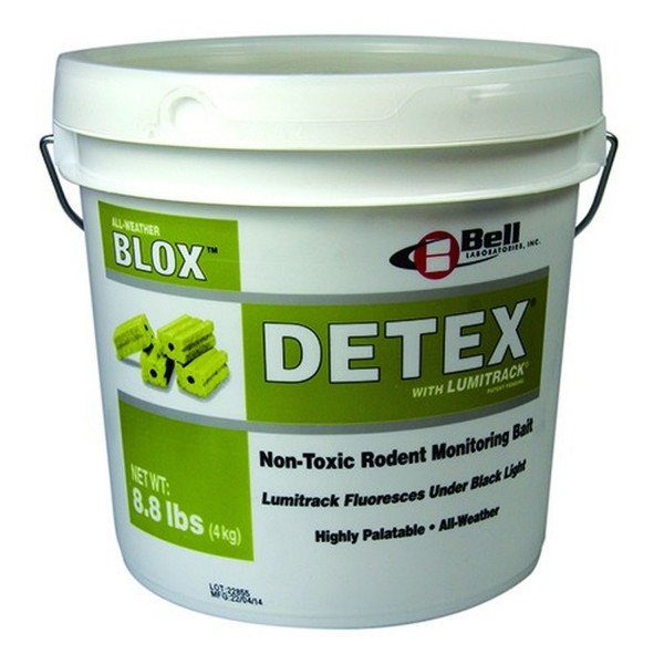 4kg Detex Blox Köderblöcke ohne Wirkstoff mit Biomarker