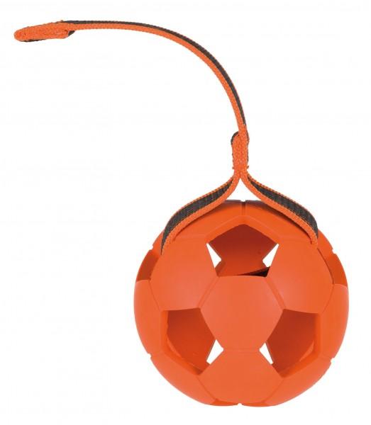 Spielzeug Naturgummiball am Gurt