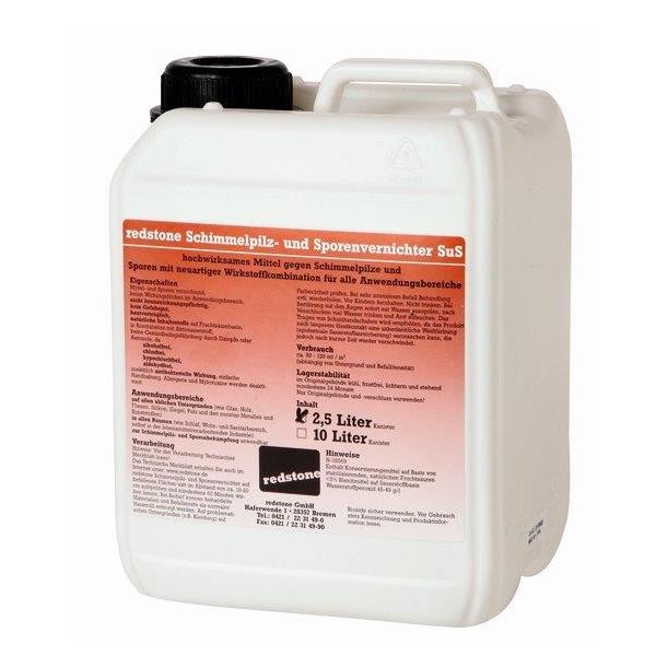 Redstone Schimmelpilz-und Sporenvernichter 2,5 Liter Kanister