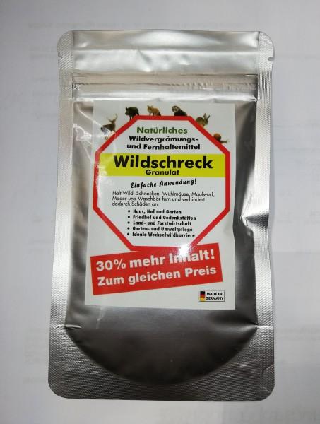 Wildschreck Granulat 130g gegen Schnecken Nager Marder Waschbären etc