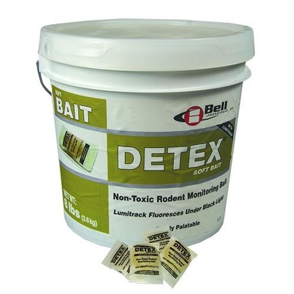 3,6 kg Detex Soft Bait ohne Wirkstoff mit Biomarker