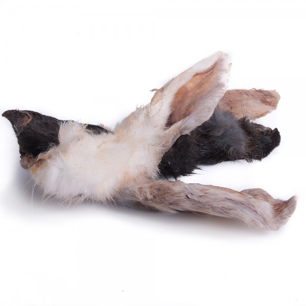 Kaninchenohren mit Fell 200g