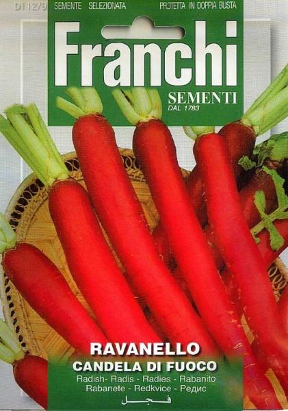 Franchi Samen Ravanello Candela Di Fuoco Radieschen