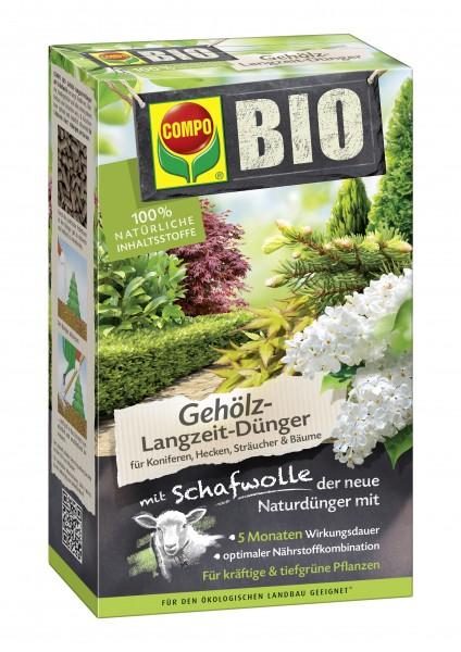 COMPO BIO Gehölz Langzeit-Dünger mit Schafwolle 750g