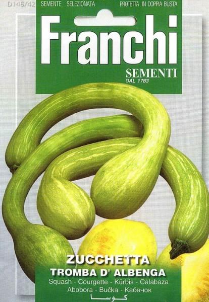 Franchi Samen Zucchetta Tromba D Albenga Kürbis
