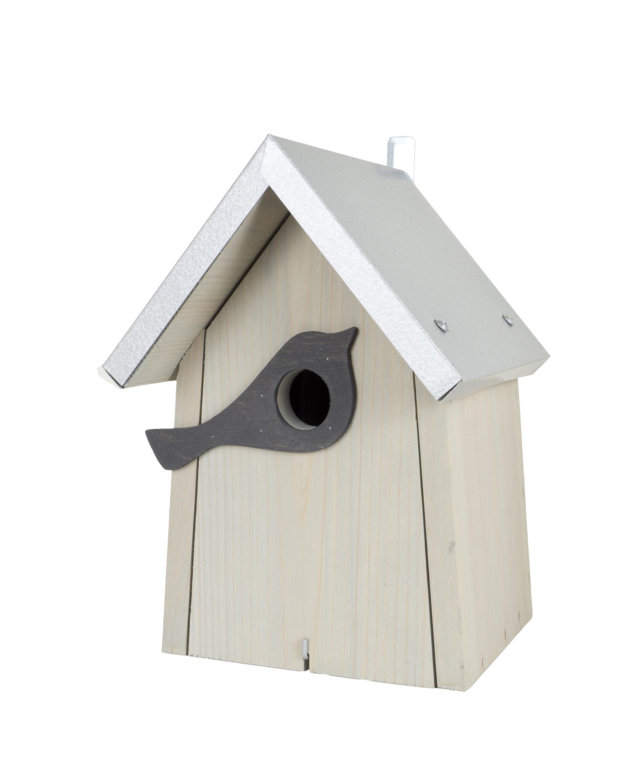 Vogelhaus Nistkasten Kiefernholz Cool Gray 2c Zum Aufhängen