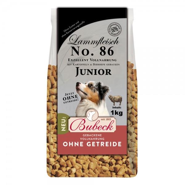 Trockenfutter No. 86 Lammfleisch junior getreidefrei 1 kg
