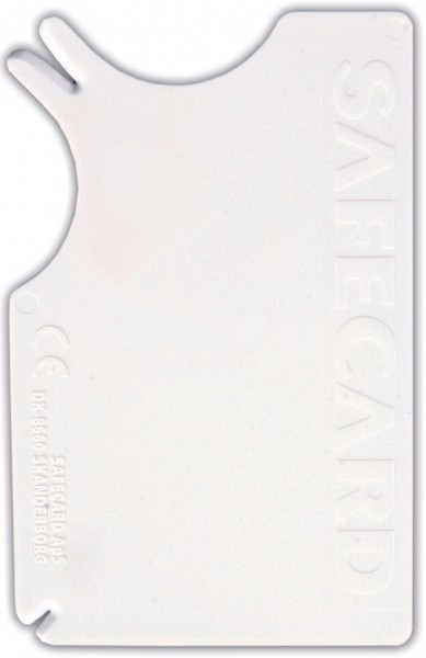 Safecard Zecken-Entferner 8x5 cm weiß